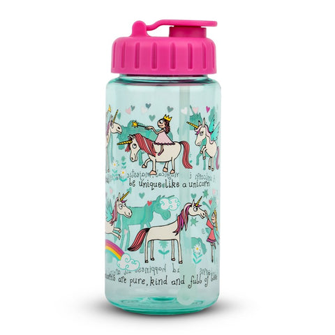 Tritan Drinking Bottle Unicorns