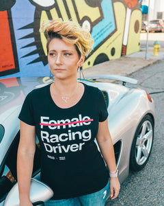 (Not) Female Racing Driver - Female Tee Shirt