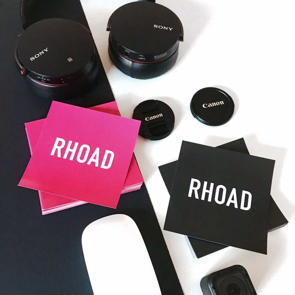 Rhoad Stickers