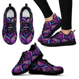 Purple Peacock Festival Sneaker Shoes -Music Festival Essentials-1StopFestyShop.com
