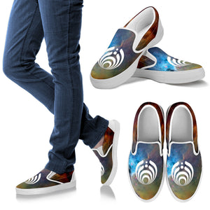 Bassnectar Galaxy Slip On Shoes -Music Festival Essentials-1StopFestyShop.com