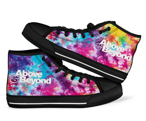 Above & Beyond High Top Shoes -Music Festival Essentials-1StopFestyShop.com