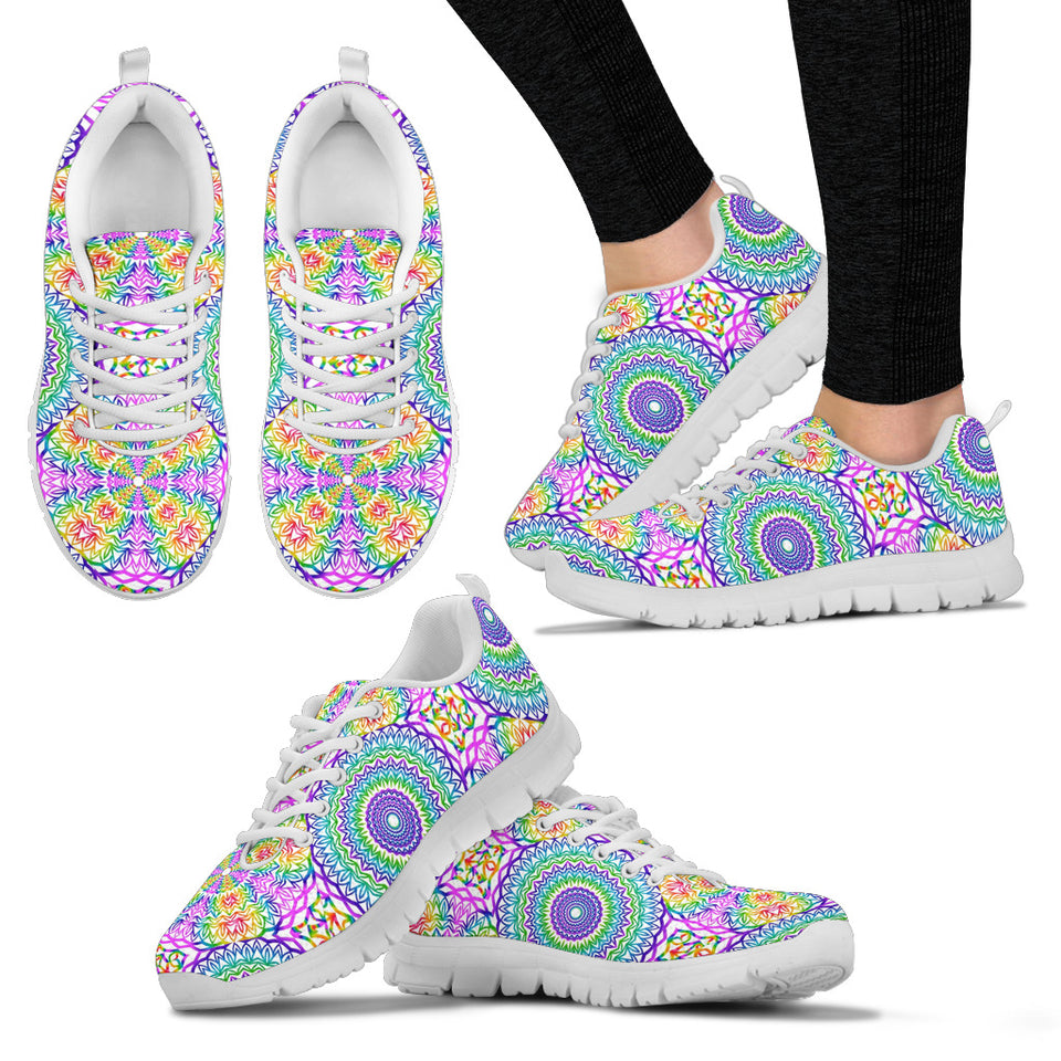 1Stop Festy Supply Shop  Chakra Mandala Festival Sneaker Shoes