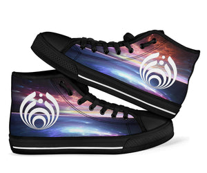 Bassnectar Ocean Night High Top Shoes -Music Festival Essentials-1StopFestyShop.com
