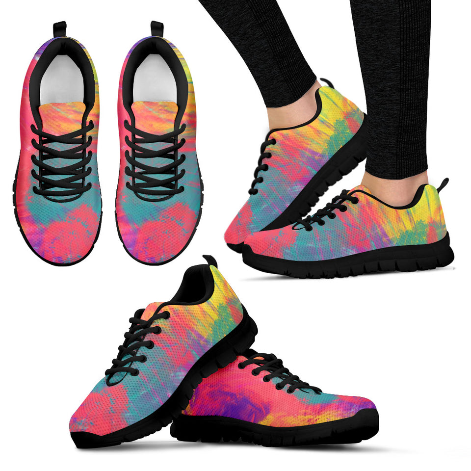 Rainbow Smoke Festival Sneaker Shoes -Music Festival Essentials-1StopFestyShop.com