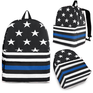 1Stop Festy Supply Shop  Black and Blue Festival  Backpack