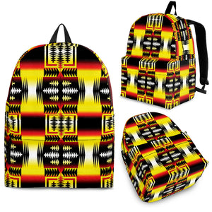 Psychedelic Aztec Backpack -Music Festival Essentials-1StopFestyShop.com