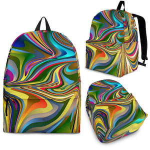 Tie Dye Swirl  Backpack -Music Festival Essentials-1StopFestyShop.com