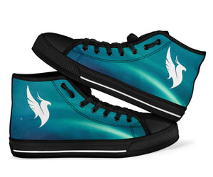 Illenium Sea Blue High Top Shoes - 1Stop Festy Supply Shop