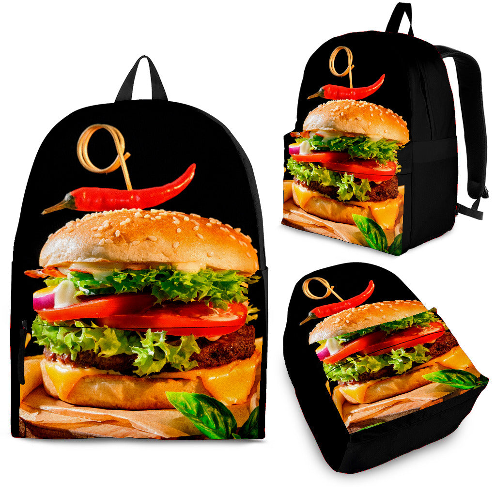 McBurger Backpack -Music Festival Essentials-1StopFestyShop.com