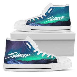 Slander Northern Lights High Top Shoes - 1Stop Festy Supply Shop