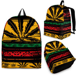 Rasta Ganja Backpack -Music Festival Essentials-1StopFestyShop.com