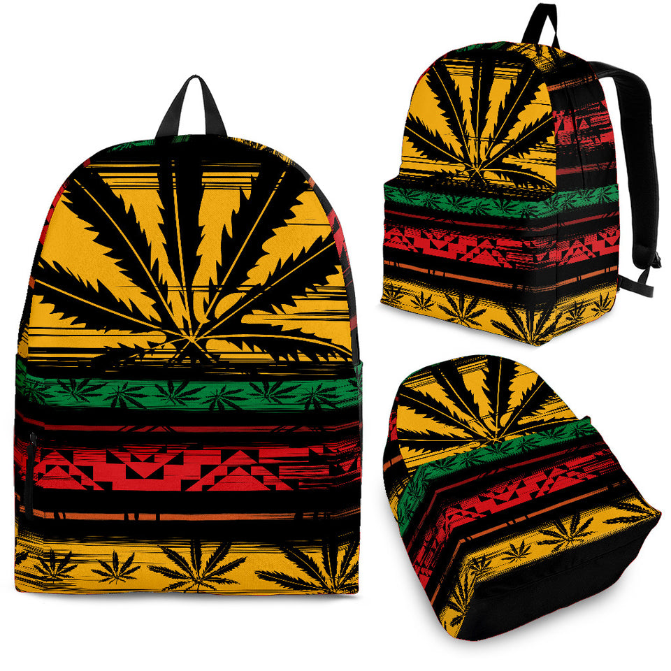 Rasta Ganja Backpack - 1Stop Festy Supply Shop