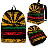 1Stop Festy Supply Shop  Rasta Ganja Backpack