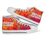 Martin Garrix Swirl High Top Shoes -Music Festival Essentials-1StopFestyShop.com