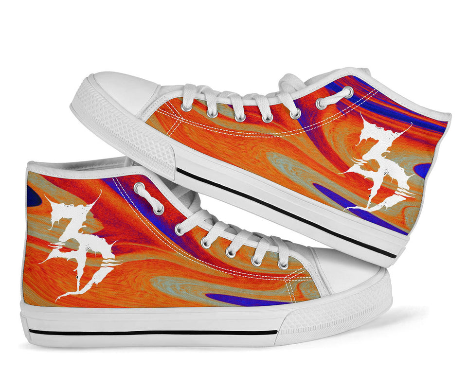 Zeads Dead High Top Festival Sneaker Shoes