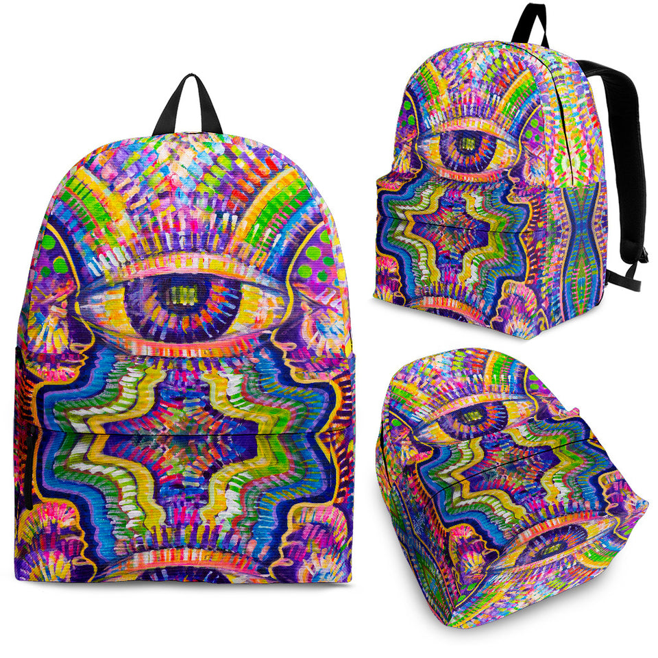 Joined Eye Backpack -Music Festival Essentials-1StopFestyShop.com