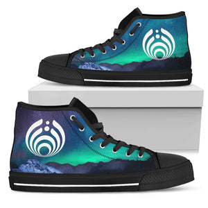 Bassnectar Northern Lights High Tops -Music Festival Essentials-1StopFestyShop.com
