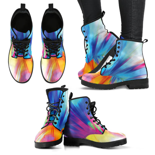 Color Burst Festival Boots - 1Stop Festy Supply Shop