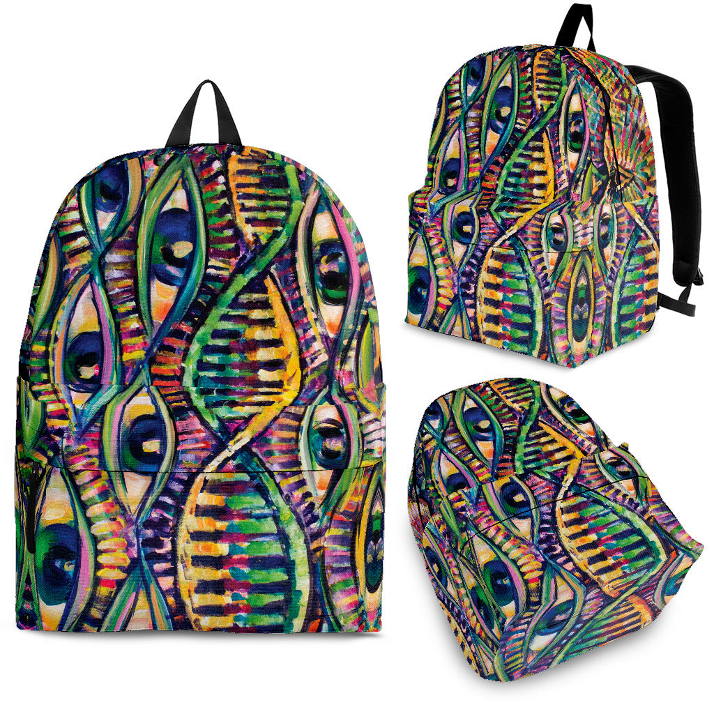 DNA Strain Backpack -Music Festival Essentials-1StopFestyShop.com