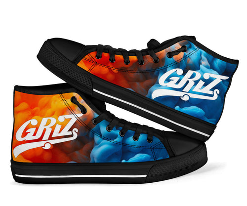 1Stop Festy Supply Shop  Griz Fire & Ice High Top Shoes