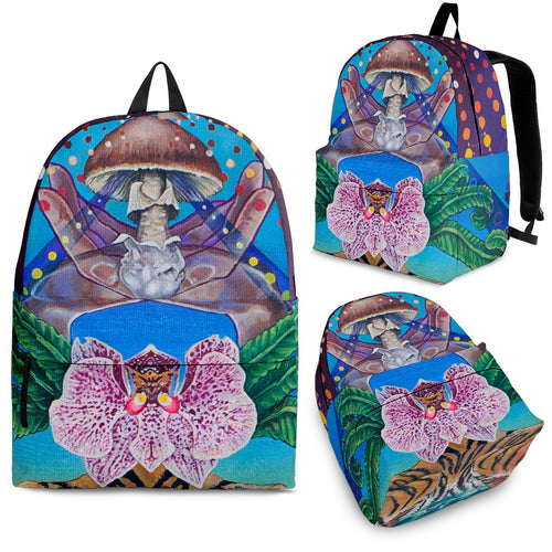 The Mushroom Backpack -Music Festival Essentials-1StopFestyShop.com