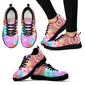 1Stop Festy Supply Shop  Colorful Spiral Festival Women's Sneaker Shoes