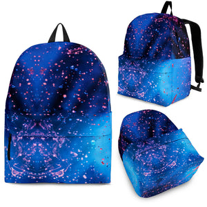 Blue Dust Backpack -Music Festival Essentials-1StopFestyShop.com