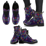 Purple Dream Catcher Boots -Music Festival Essentials-1StopFestyShop.com