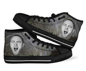 1Stop Festy Supply Shop  Mac Miller Face High Top Shoes