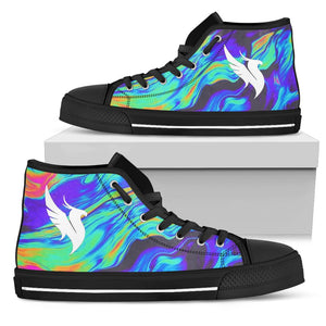 Illenium Tie Dye Swirl High Tops - 1Stop Festy Supply Shop