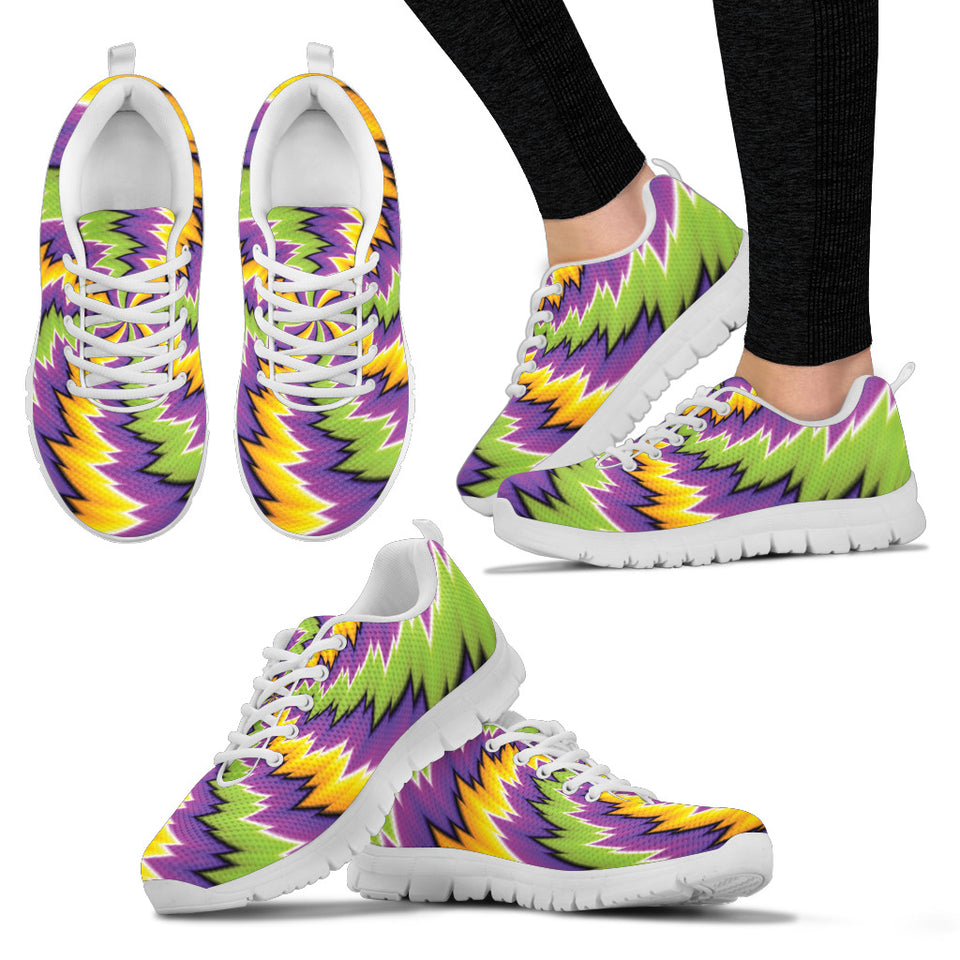 Neon Burst Festival Sneaker Shoes -Music Festival Essentials-1StopFestyShop.com