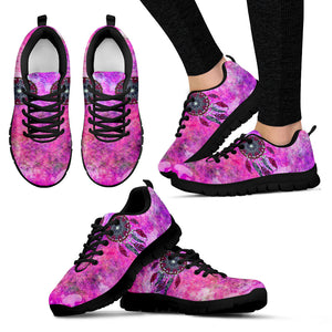 Purple Dream Catcher Festival Sneaker Shoes -Music Festival Essentials-1StopFestyShop.com