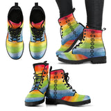 1Stop Festy Supply Shop  Chakra Rainbow Boots