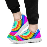 Rainbow Swirl Festival Sneaker Shoes -Music Festival Essentials-1StopFestyShop.com