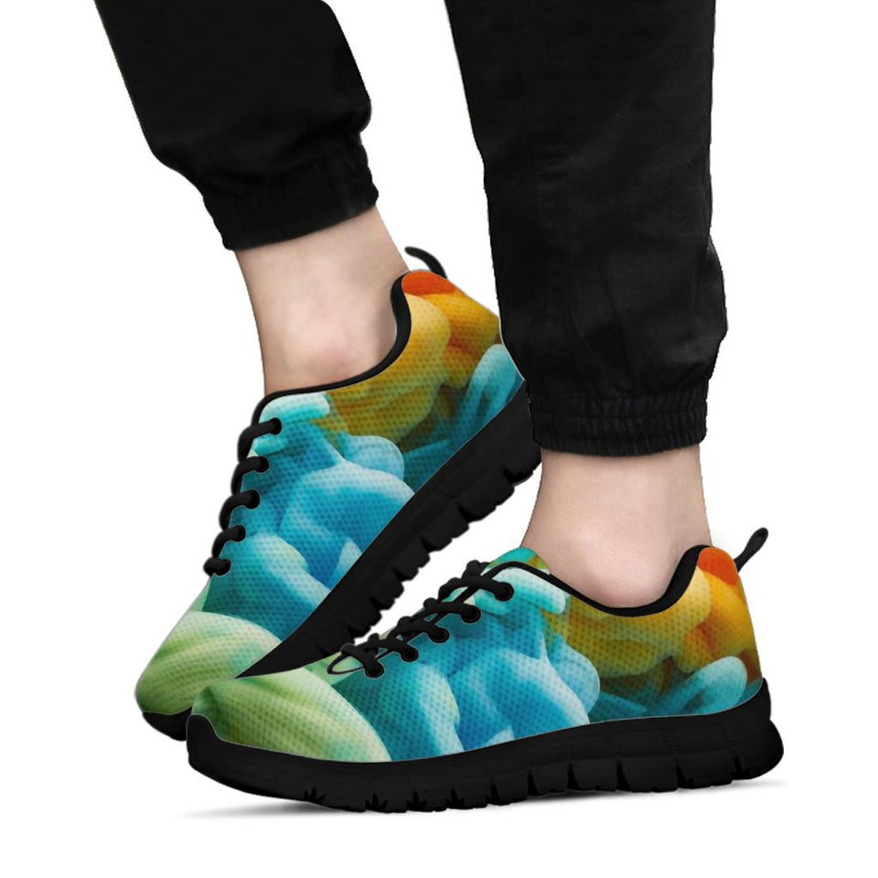 Tie Dye Cloud Festival Sneaker Shoes -Music Festival Essentials-1StopFestyShop.com