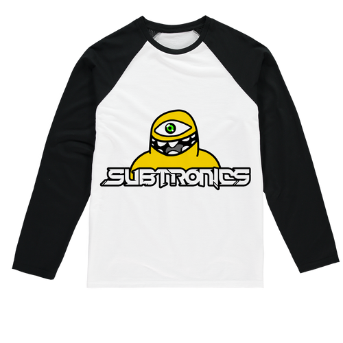 Subtronics Cyclops Army Baseball Long Sleeve T-Shirt