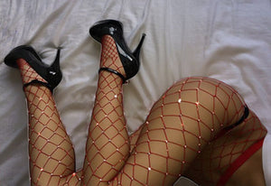 Woman's Elastic Stockings Fish Net Tights Pantyhose Sexy -Music Festival Essentials-1StopFestyShop.com