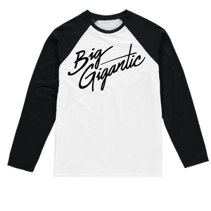 Big Gigantic Sublimation Baseball Long Sleeve T-Shirt