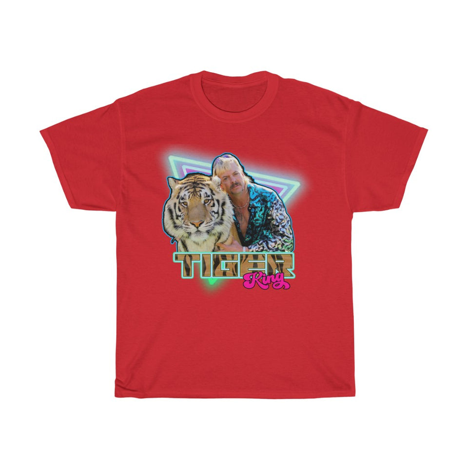 Tiger King Joe Exotic Unisex T- Shirt -Music Festival Essentials-1StopFestyShop.com