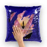 Odesza Sequin Pillow Cover -Music Festival Essentials-1StopFestyShop.com