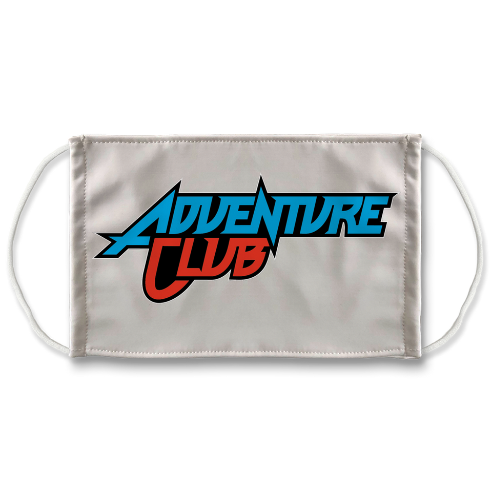 Adventure Club Sublimation Face Mask