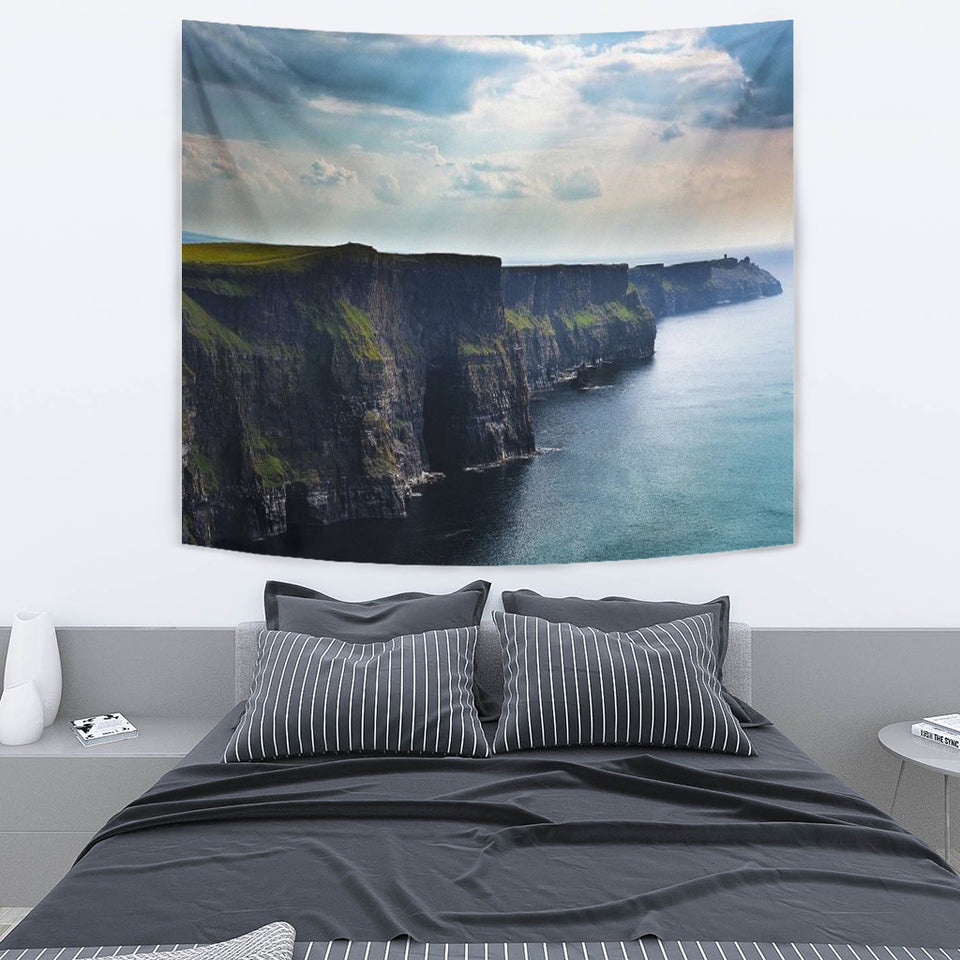Cliffs of Moher ~ Tapestry -Music Festival Essentials-1StopFestyShop.com