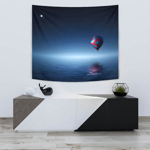 TAPESTRY BALLOON RIDE OVER OCEAN -Music Festival Essentials-1StopFestyShop.com