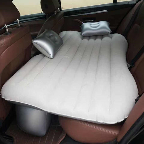 Backseat Blowup Air Mattress With Pillows (4 Door) -Music Festival Essentials-1StopFestyShop.com