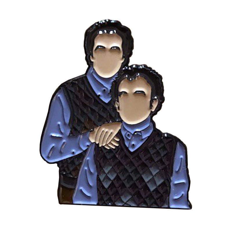 Funny Step Brothers Movie  Enamel Hat Pin Collectible Metal Lapel Pin -Music Festival Essentials-1StopFestyShop.com
