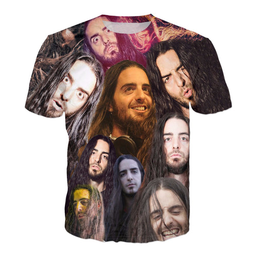 Bassnectar  Face Collage Shirt - 1Stop Festy Supply Shop
