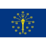 Hot Selling Indiana Bassnectar Flag 3'x5' US state flag Polyeater Decoration , free shipping -Music Festival Essentials-1StopFestyShop.com