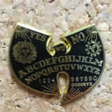 Wu-Tang Clan Ouija Board Hat Pin -Music Festival Essentials-1StopFestyShop.com