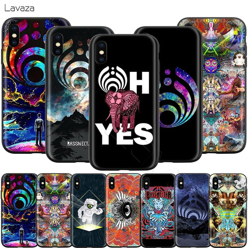 Bassnectar Iphone Protective Phone Cases (All Models) -Music Festival Essentials-1StopFestyShop.com